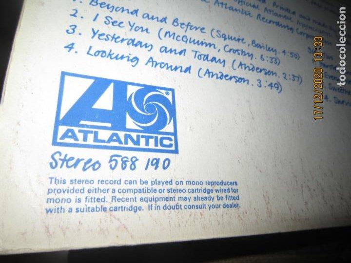 Discos de vinilo: YES - YES LP - ORIGINAL INGLES - DEBUT ALBUM - ATLANTIC 1969 - GATEFOLD COVER - PLUM LABEL - Foto 9 - 230704405