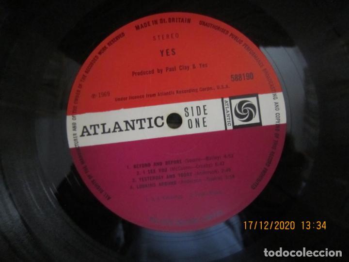Discos de vinilo: YES - YES LP - ORIGINAL INGLES - DEBUT ALBUM - ATLANTIC 1969 - GATEFOLD COVER - PLUM LABEL - Foto 12 - 230704405