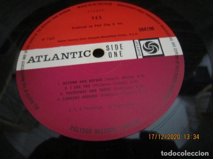 Discos de vinilo: YES - YES LP - ORIGINAL INGLES - DEBUT ALBUM - ATLANTIC 1969 - GATEFOLD COVER - PLUM LABEL - Foto 13 - 230704405