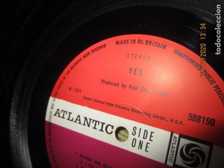 Discos de vinilo: YES - YES LP - ORIGINAL INGLES - DEBUT ALBUM - ATLANTIC 1969 - GATEFOLD COVER - PLUM LABEL - Foto 14 - 230704405