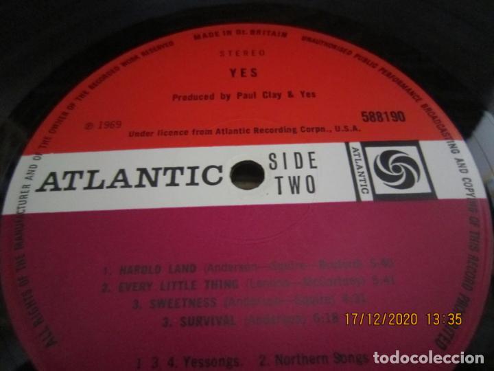Discos de vinilo: YES - YES LP - ORIGINAL INGLES - DEBUT ALBUM - ATLANTIC 1969 - GATEFOLD COVER - PLUM LABEL - Foto 16 - 230704405