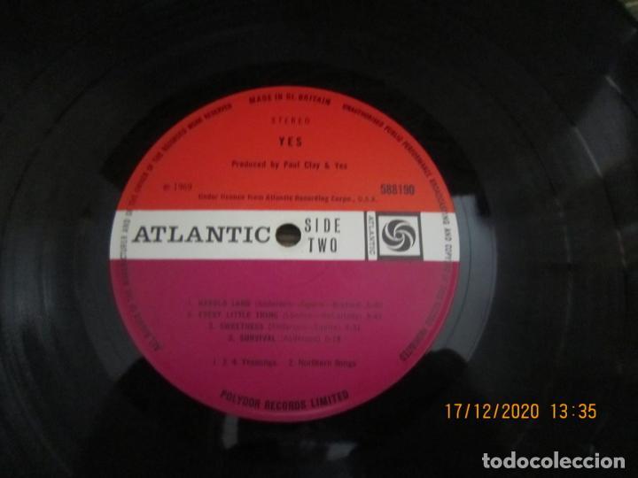 Discos de vinilo: YES - YES LP - ORIGINAL INGLES - DEBUT ALBUM - ATLANTIC 1969 - GATEFOLD COVER - PLUM LABEL - Foto 17 - 230704405