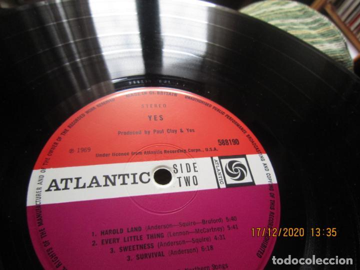 Discos de vinilo: YES - YES LP - ORIGINAL INGLES - DEBUT ALBUM - ATLANTIC 1969 - GATEFOLD COVER - PLUM LABEL - Foto 18 - 230704405