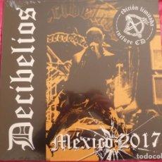 Dischi in vinile: LP - DECIBELIOS - MEXICO 2017 - VINILO NUEVO BONUS CD LIMITADO 300 COPIAS. Lote 254806870