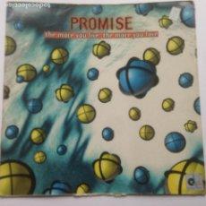 Discos de vinilo: PROMISE – THE MORE YOU LIVE, THE MORE YOU LOVE - MAXI 1995 - SOLO PORTADA. Lote 230709250