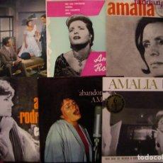 Discos de vinilo: AMALIA RODRIGUES- LOTE DE 6 EPS.. Lote 230716190