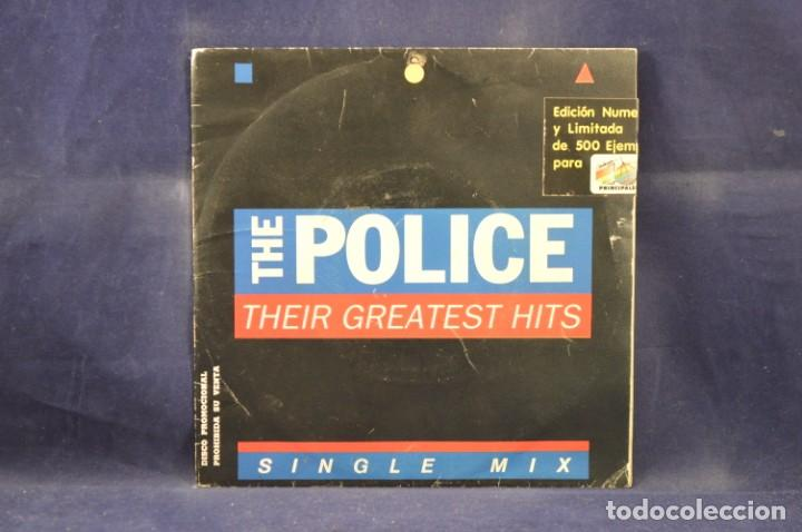 THE POLICE ‎- THEIR GREATEST HITS - SINGLE MIX - EDICION LIMITADA 177/500 - SINGLE (Música - Discos - Singles Vinilo - Pop - Rock - Internacional de los 70)