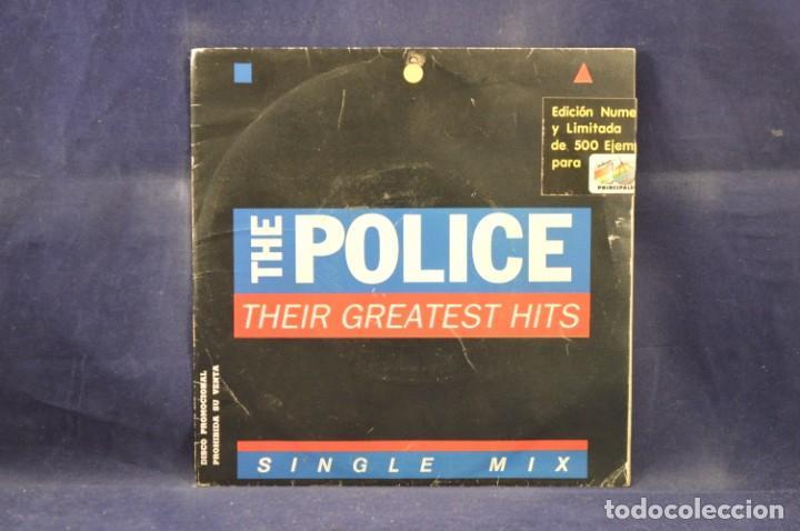 THE POLICE - THEIR GREATEST HITS - SINGLE MIX - EDICION LIMITADA 177/500 - SINGLE (Música - Discos - Singles Vinilo - Pop - Rock - Internacional de los 70)