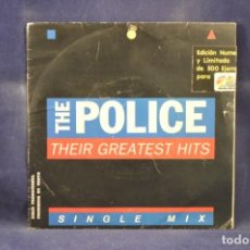 Discos de vinilo: THE POLICE ‎- THEIR GREATEST HITS - SINGLE MIX - EDICION LIMITADA 177/500 - SINGLE. Lote 230719125