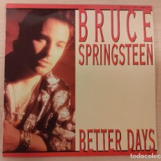 "Discos de vinilo: BRUCE SPRINGSTEEN BETTER DAYS / TOUGHER THAN THE REST (LIVE) MAXI SINGLE 12"". Lote 230722915"