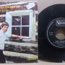 Disques de vinyle: BOBBY GOLDSBORO / EL OTOÑO DE MI VIDA / SINGLE 7 INCH. Lote 230729510