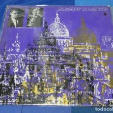 Discos de vinilo: BOXH67F LP JAZZ UK 60S 1 MARCA SOBRELLEVABLE ZOOT SIMS AL COHN IN LONDON. Lote 230731920