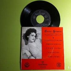 Discos de vinilo: CELIA GÁMEZ - LA HECHICERA EN PALACIO - ESTUDIANTINA PORTUGUESA +3 - CGE 60015 - COMPRA MÍNIMA 3 EUR. Lote 230731990