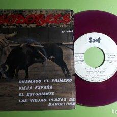 Discos de vinilo: PASODOBLES - CHAMACO EL PRIMERO +3 - SP 1018 - 1959 - COMPRA MÍNIMA 3 EUROS. Lote 230733435