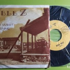Discos de vinilo: DOBLE Z - RIVER WEST + CHEYENNE - 1974 - COMPRA MÍNIMA 3 EUROS. Lote 230743980