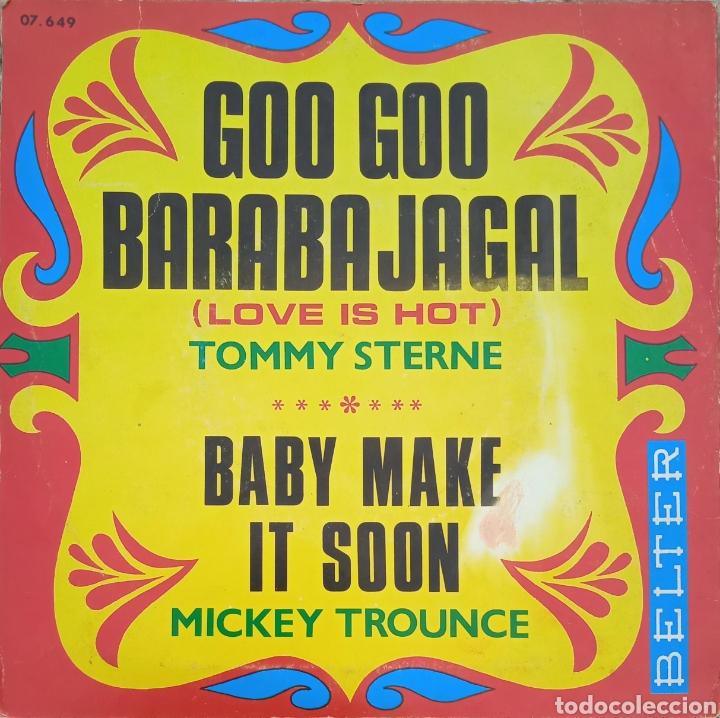 Discos de vinilo: EP Tommy Sterne/Mickey Trounce - Foto 2 - 230746395