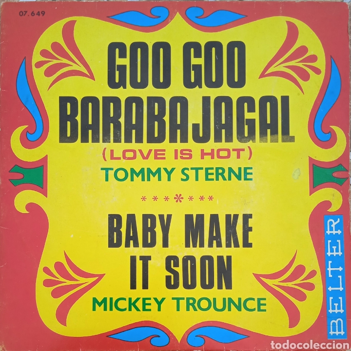 EP TOMMY STERNE/MICKEY TROUNCE (Música - Discos de Vinilo - EPs - Funk, Soul y Black Music)