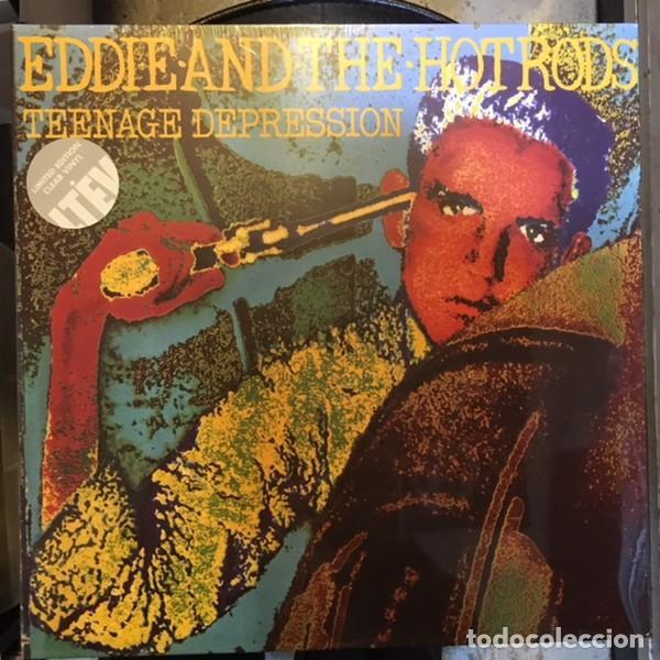EDDIE AND THE HOTRODS – TEENAGE DEPRESSION -LP- (Música - Discos - LP Vinilo - Punk - Hard Core)