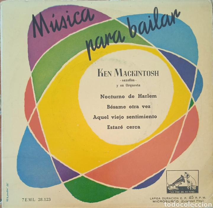 EP KEN MACKINTOSH (Música - Discos de Vinilo - EPs - Jazz, Jazz-Rock, Blues y R&B)