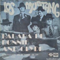 Discos de vinilo: SINGLE LOS MUSTANG. Lote 230759895