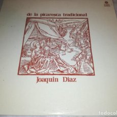 Disques de vinyle: JOAQUIN DIAZ-DE LA PICARESCA TRADICIONAL. Lote 230777595