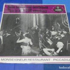 Discos de vinilo: BOXH67F LP ROY FOX UK 60S MONO ANTIQUISIMO HELLO LADIES AND GENTLEMEN 1962 MUY BUEN ESTADO. Lote 230800115