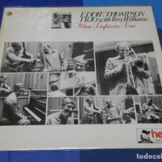 Discos de vinilo: BOXH67F LP JAZZ UK BUEN ESTADO EDDIE THOMPSON TRIO WITH ROY WILLIAMS WHEN LIGHTS ARE LOW. Lote 230801510