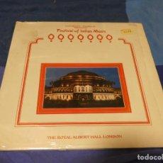 Discos de vinilo: EXPRO DOBLE LP FESTIVAL OF INDIAN MUSIC 1986 VINILOS MUY BUEN ESTADO LAXMIKANT- PYARELAL. Lote 230803610