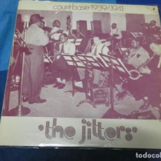Discos de vinilo: LOTT110D LP JAZZ VINILO MUY BUEN ESTADO UK 70S COUNT BASIE 1939/41 THE JITTERS. Lote 230817815