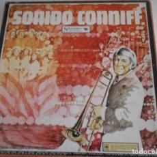Discos de vinilo: SONIDO CONNIFF. RAY CONNIFF. SELECCIONES DEL READER'S DIGEST. CAJA CON 8 LPS DE VINILIO DECENAS DE M. Lote 230825495