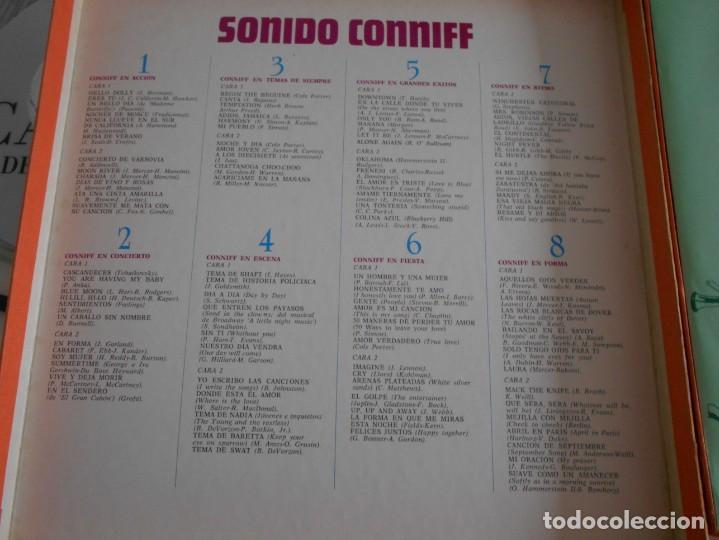 Discos de vinilo: SONIDO CONNIFF. RAY CONNIFF. SELECCIONES DEL READERS DIGEST. CAJA CON 8 LPS DE VINILIO DECENAS DE M - Foto 3 - 230825495