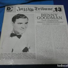 Discos de vinilo: LOTT110D DOBLE LP JAZZ MUY BUEN ESTADO GENERAL FRANCIA 70S BENNY GOODMAN JAZZ TRIBUNE 13 1935-37. Lote 230825885