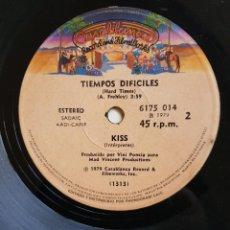 Discos de vinilo: KISS :RARO SINGLE EDICION ARGENTINA- MUY BIEN -OPORTUNIDAD COLECCIONISTAS. Lote 230833115