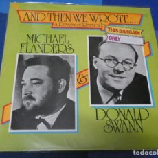Discos de vinilo: LOTT110D LP JAZZ MUY BUEN ESTADO GENERAL UK 70S ANTOLOGÍA MICHAEL FLANDERS DONALD SWANN. Lote 230836505