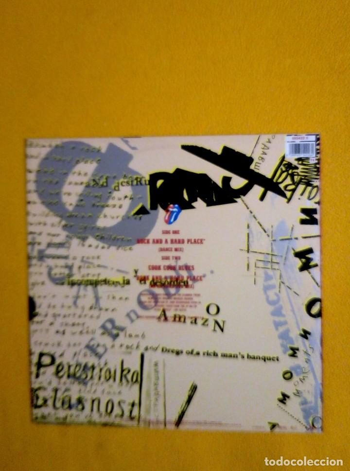 Discos de vinilo: THE ROLLING STONES-ROCK AND A HARD PLACE - Foto 2 - 255336745