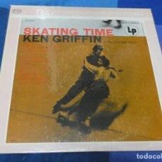 Discos de vinilo: LOTT110D LP JAZZ UK CA 1970 SKATING TIME KEN GRIFFIN BUEN ESTADO GENERAL. Lote 230842830