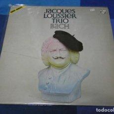 Discos de vinilo: LOTT110D LP JAZZ UK AÑOS 70 JACQUES LOUSSIER TRIO BACH MUY BUEN ESTADO GENERAL. Lote 230843300