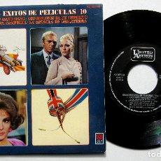 Discos de vinilo: VARIOS - GRANDES ÉXITOS DE PELÍCULAS 10 - EP HISPAVOX / UNITED ARTISTS 1969 BPY. Lote 230844680