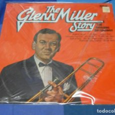 Discos de vinilo: LOTT110B LP JAZZ UK 70S GLENN MILLER STORY ORIGINAL RECORDING MUY BUEN ESTADO GENERAL. Lote 230852395