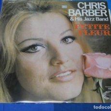 Discos de vinilo: LOTT110B LP JAZZ UK 70S CHRIS BARBER & HIS JAZZ BAND PETITE FLEUR BUEN ESTADO GENERAL. Lote 230852950