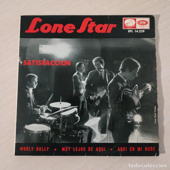 LONE STAR - SATISFACCION / WOOLY BULLY / MUY LEJOS DE AQUI / AQUI EN MI NUBE / EP REGAL 1965 VG++ (Música - Discos de Vinilo - EPs - Grupos Españoles 50 y 60)