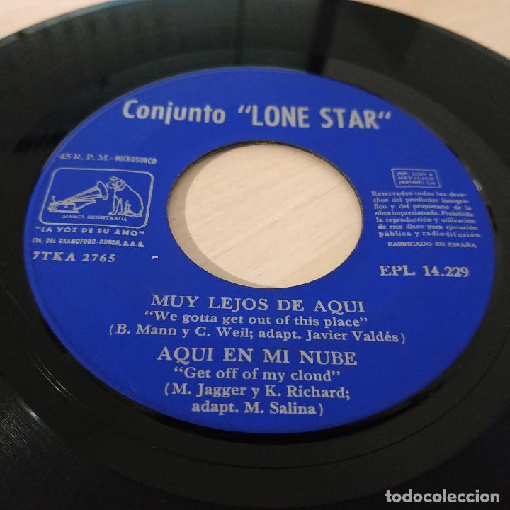 Discos de vinilo: LONE STAR - SATISFACCION / WOOLY BULLY / MUY LEJOS DE AQUI / AQUI EN MI NUBE / EP REGAL 1965 VG++ - Foto 4 - 230876200