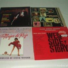 Discos de vinilo: LOTE 7 LP'S (2 DOBLES) BANDAS SONORAS PELICULAS SOUNDTRACK B.S.O. Lote 230878230