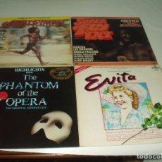 Discos de vinilo: LOTE 7 LP'S (DOS DOBLES) BANDAS SONORAS PELICULAS SOUNDTRACK B.S.O. Lote 230880305
