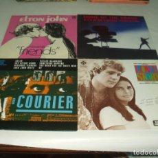 Discos de vinilo: LOTE 8 LP'S ( UNO DOBLE CON LIBRETO) BANDAS SONORAS DE PELICULAS SOUNTRACK B.S.O. Lote 230883645