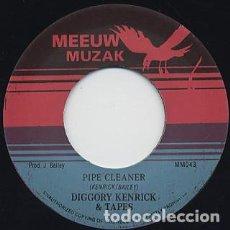 Discos de vinilo: DIGGORY KENRICK & TAPES - PIPE CLEANER - 7'' [MEEUW MUZAK, 2012]. Lote 230893655