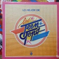 Discos de vinilo: *** LOS TEEN TOPS - LO MEJOR DE LOS TEEN TOPS - LP AÑO 1978 - LEER DESCRIPCION. Lote 230897985