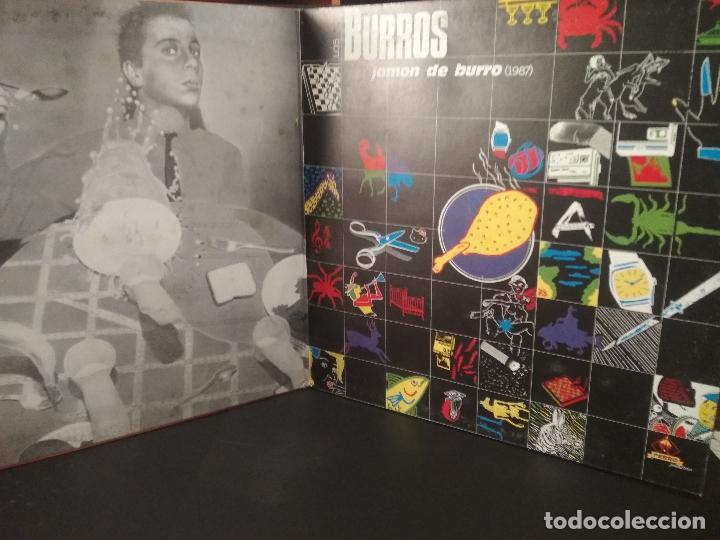 Discos de vinilo: LOS BURROS ( dobe LP) REBUZNOS DE AMOR + JAMON DE BURRO 83-86 2HOJAS CON LETRAS pepeto - Foto 3 - 230903815