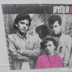 Discos de vinilo: PRETTY IN PINK. LP VINILO. DISCOGRAFIARECORDS A & M. 1986. VER FOTOGRAFIAS ADJUNTAS. Lote 230913640
