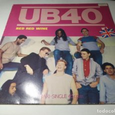 Discos de vinilo: MAXI - UB40 – RED RED WINE - F-600 968 (VG+ / VG+) SPAIN 1983. Lote 230915515